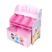 Disney Baby Princess 3 Bin Organizer with Roll Out Toy Box in Pretty Pink at Kmart.com
