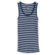 One Step Up Heather Gray Striped Tank Top at Sears.com