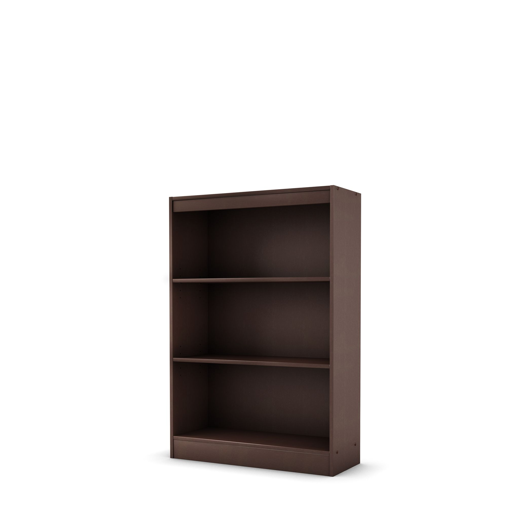Three Shelf Bookcase, Essentials Collection,