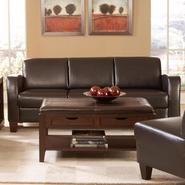 Oxford Creek Sofa in PU in Dark Chocolate at Sears.com