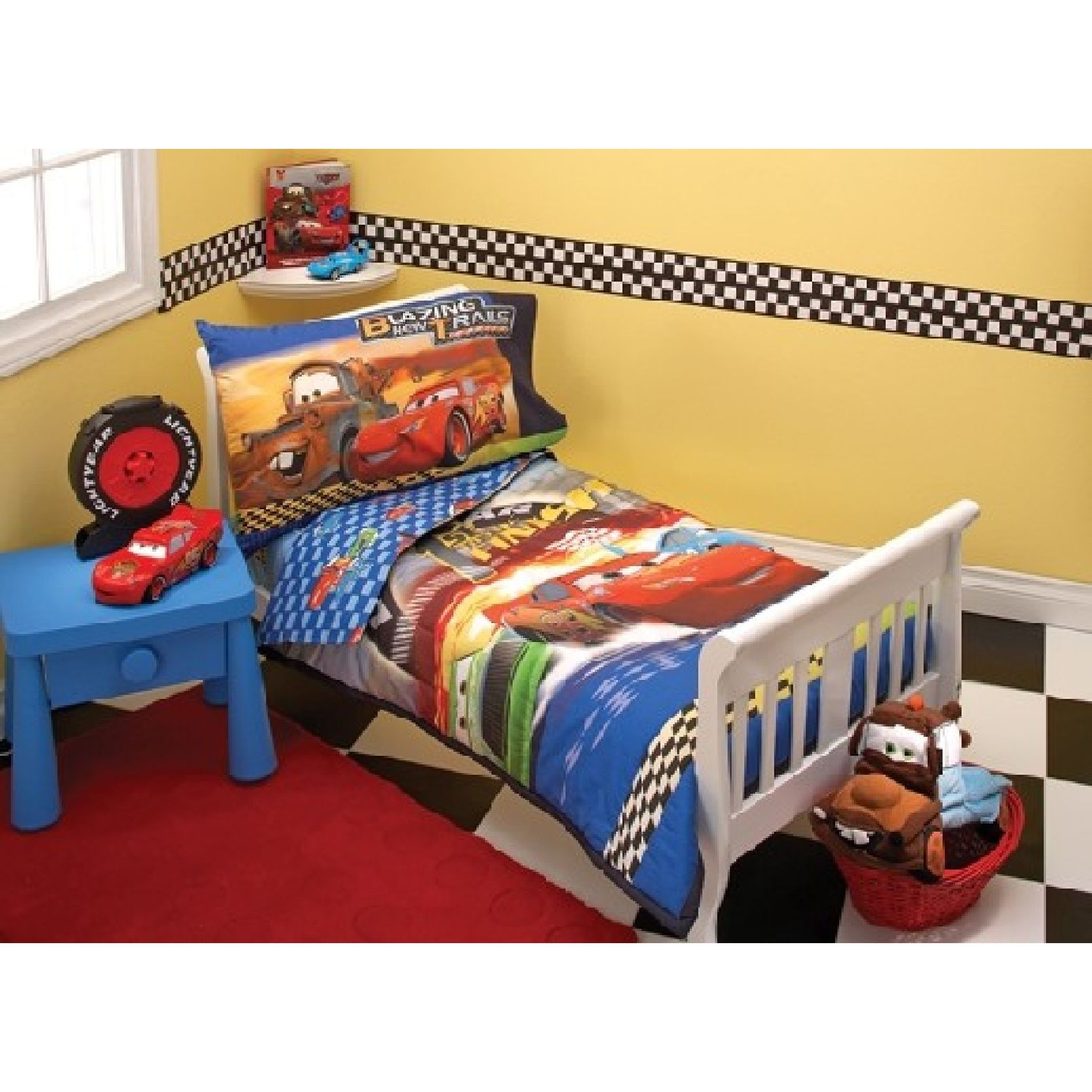 mixed brands toddler bedding set disney cars 1st to finish