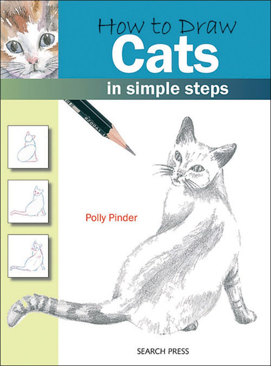 Search Press SP-83693 Books-How To Draw Cats PartNumber: 021V001585127000P KsnValue: 1585127 MfgPartNumber: SP-83693