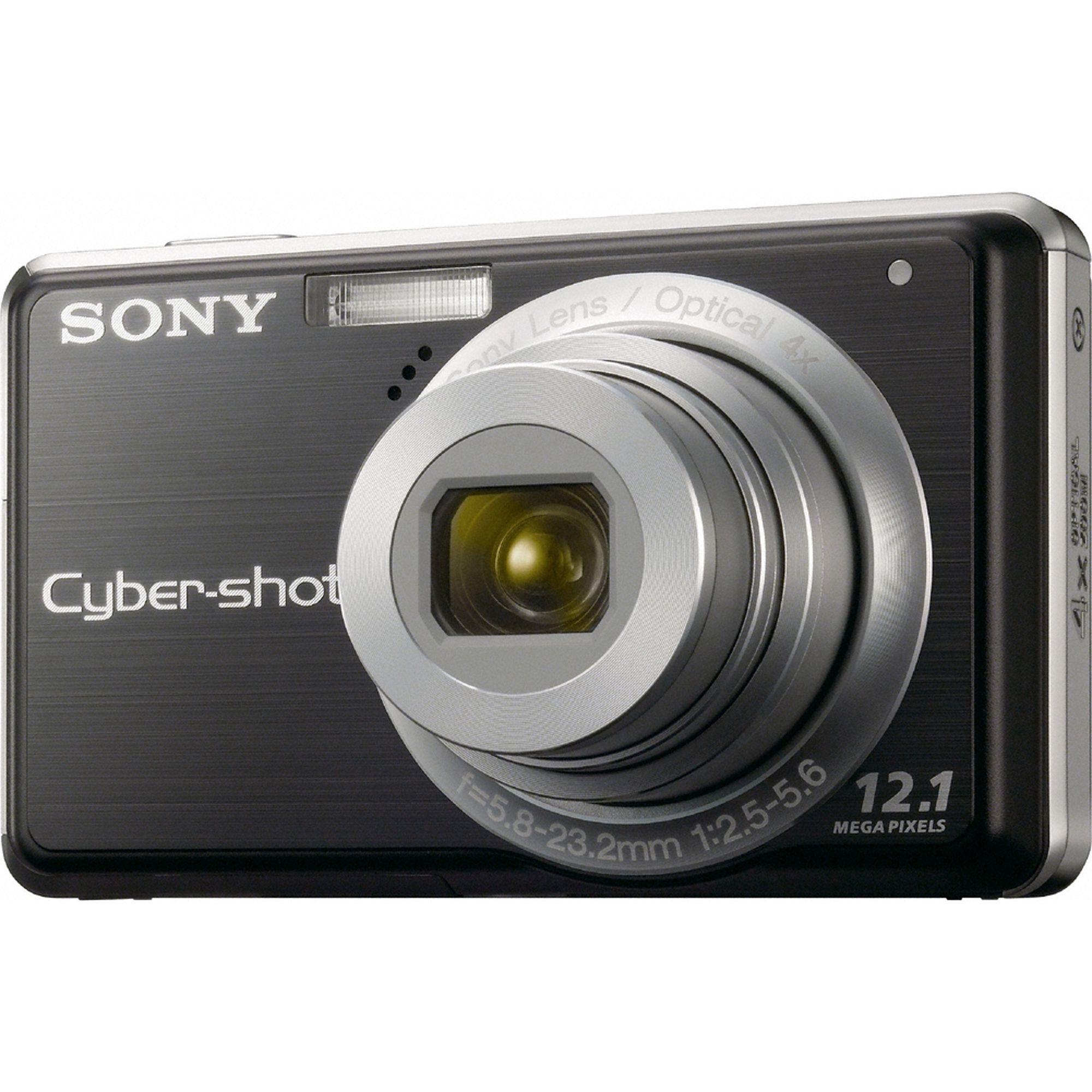 Sony Cyber-shot® 12.1 Megapixel 4X Optical Zoom Digital Camera - Black PartNumber: 020W369247110001P KsnValue: 020W369247110001 MfgPartNumber: DSCS980/B