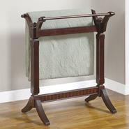 "L Powell Contemporary ""Merlot"" Blanket Rack at Kmart.com"