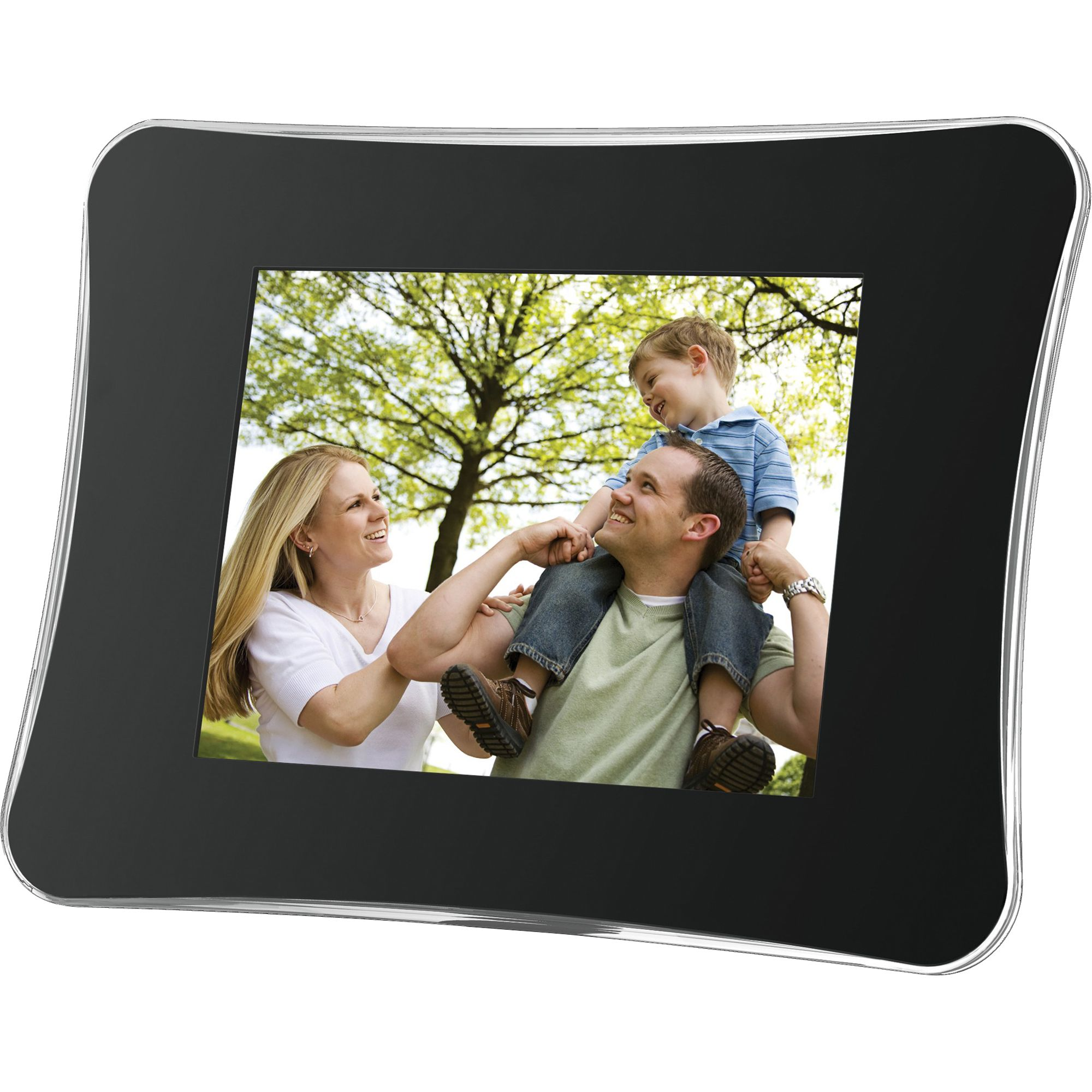 Coby - DP850-1G - 8 in. Contemporary Design Digital Photo Picture ...
