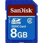 SanDisk 8GB Standard SDHC Memory Card