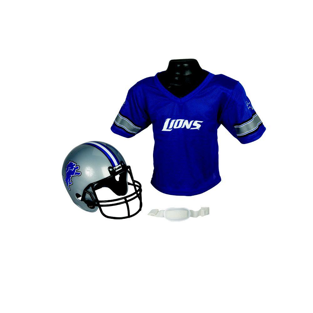 Franklin Sports NFL Detroit Lions Helmet/Jersey Set PartNumber: 00632068000P KsnValue: 00632068000 MfgPartNumber: 15720F04P1Z