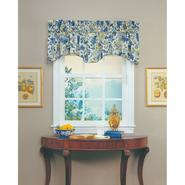 "Waverly Imperial Dress Porcelain 80""x18"" Buckingham Window Valance at Sears.com"