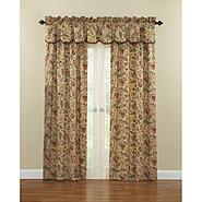 "Waverly Imperial Dress Antique 42""x84"" Rod Pocket Curtain Panel with Tieback at Sears.com"