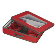 Household Essentials Holiday Tabletop Set Chest red with green trim/window on top at Kmart.com