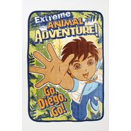 Nickelodeon Diego Adventure Coral Plush Ultra Soft Toddler Blanket at Kmart.com