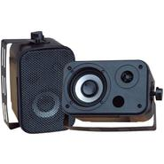 "Pyle 3.5"" Indoor/Outdoor Waterproof Speakers - Black at Sears.com"