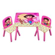 Delta Table & Chairs Dora With Puppy at Kmart.com