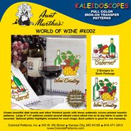 Aunt Martha's Kaleidoscopes Iron-On Transfer Patterns-World Of Wine at Sears.com