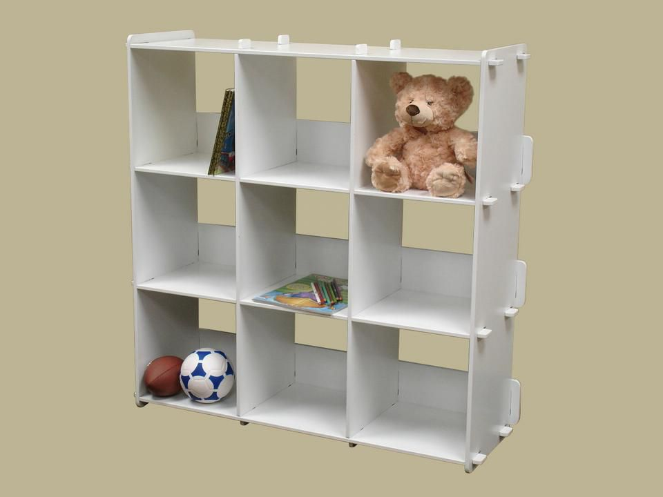 9 Cubby Storage Shelving