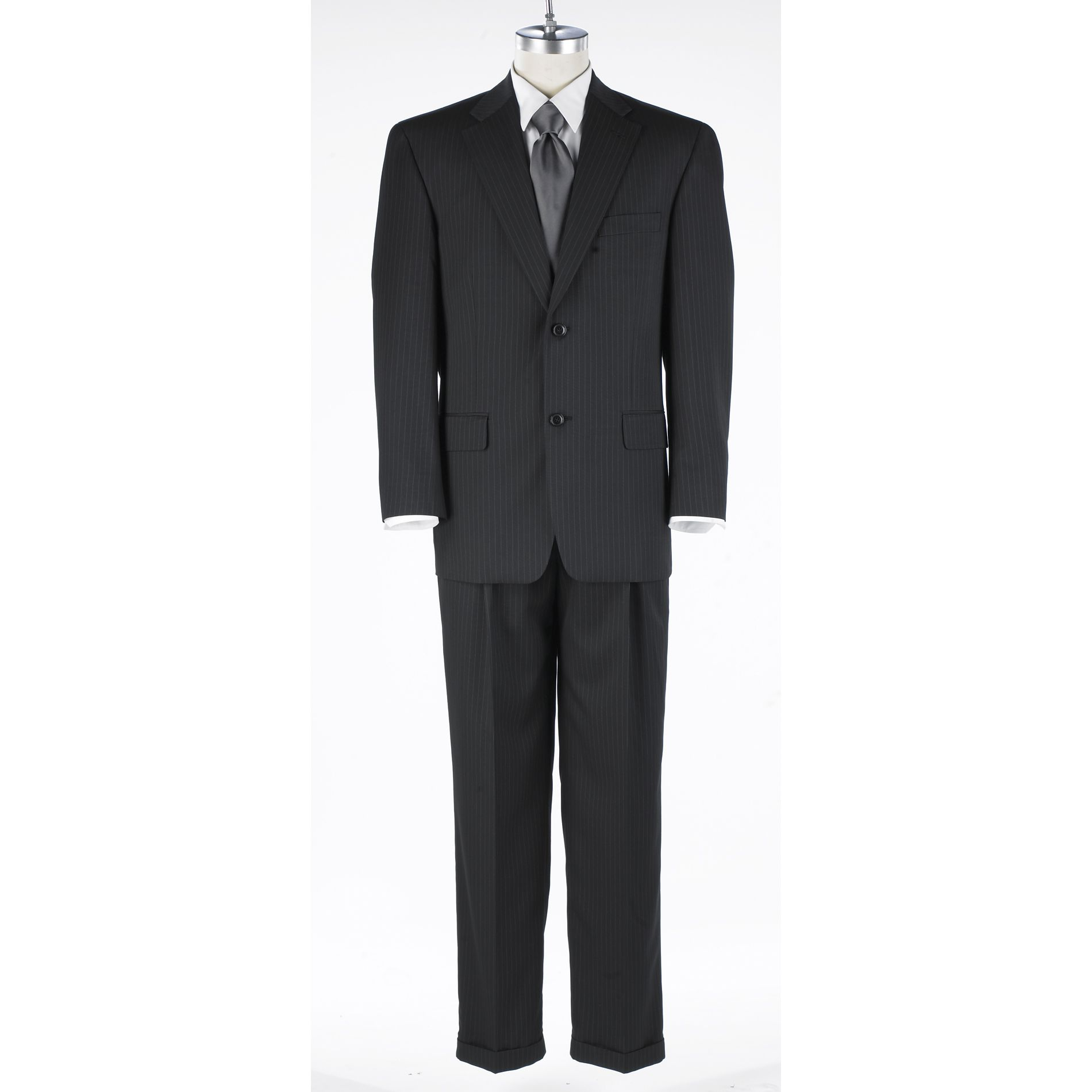 Haggar Black Stripe Suit Separate Collection at Sears.com