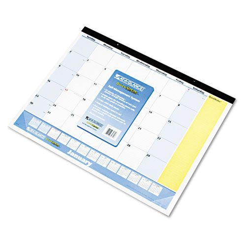 AT-A-GLANCE  QuickNotes Monthly Desk