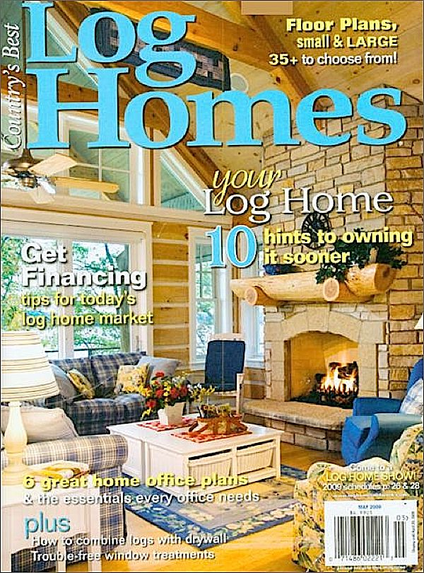 Country's Best Log Homes Magazine