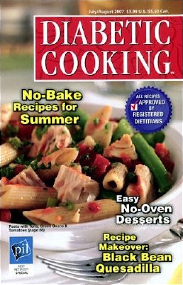 Diabetic Cooking Magazine