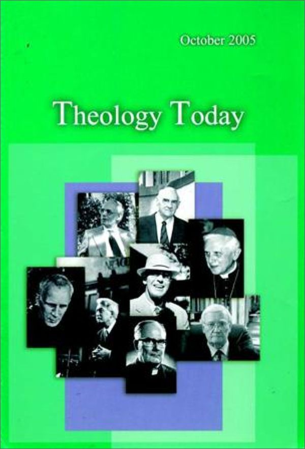 Theology Today Magazine