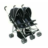 Dream On Me Side By Side Twin Baby Stroller, Black at Sears.com