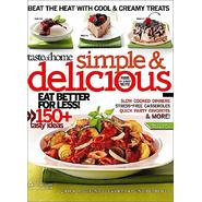 Taste of Home Simple & Delicious Magazine at Kmart.com