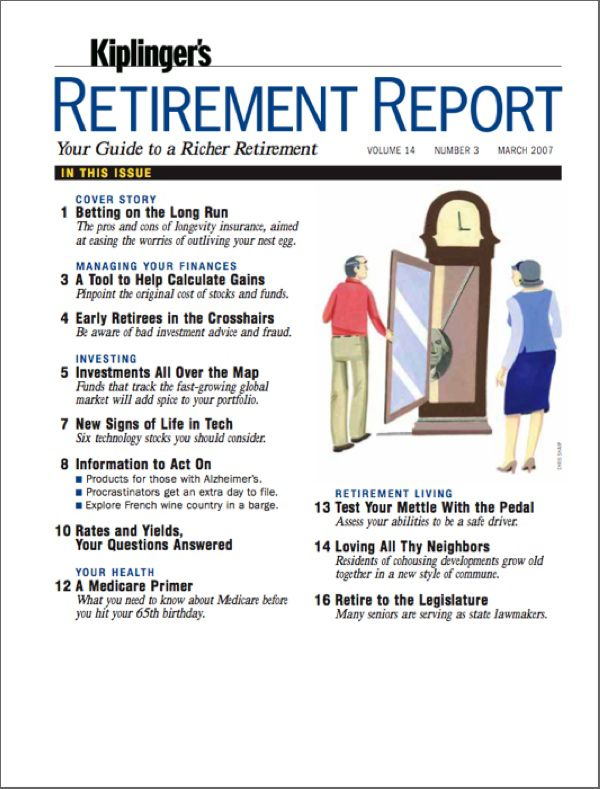 Kiplinger's Retirement Report Magazine