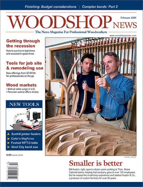 Woodshop News Magazine