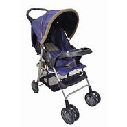 Dream On Me Reclining Stroller With Console,Navy/Blue at Kmart.com
