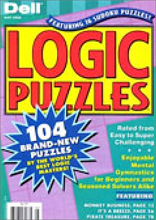 Dell Logic Puzzles Magazine