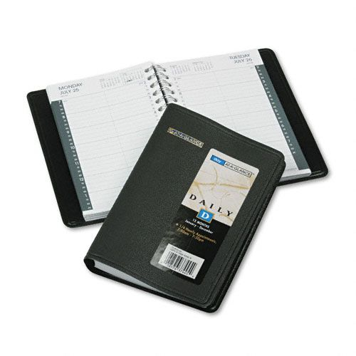 AT-A-GLANCE Daily Appointment Book with 15-Minute Schedule