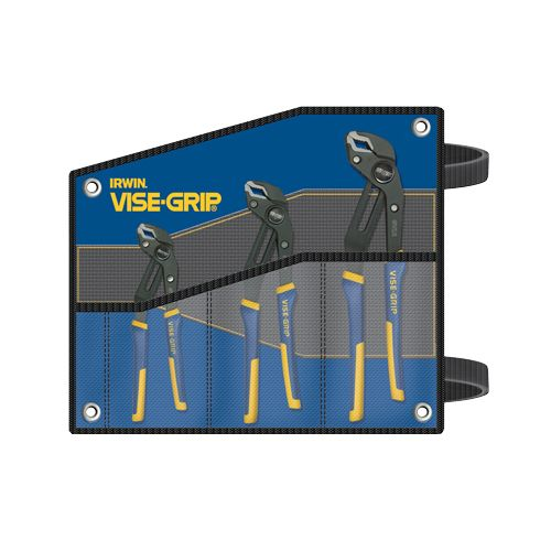 Vise Grip  3 Pc. GrooveLock Kit Bag Set