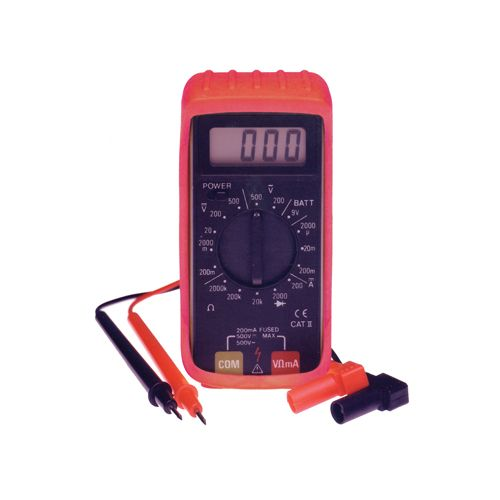 Digital Mini Multimeter With Holster