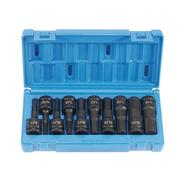 "Grey Pneumatic 10 Piece 1/2"" Drive Hex Impact Socket Set at Sears.com"