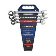 KD Tools 4 Piece Reversible GearWrench Completer Set- Metric at Sears.com