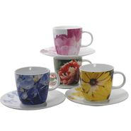 Loveramics Flowertime Cup & Saucer Set of 12 at Kmart.com
