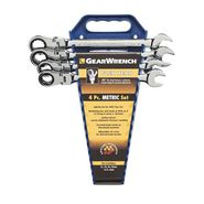 KD Tools 4 Piece Flex Head GearWrench Completer Set- Metric at Craftsman.com
