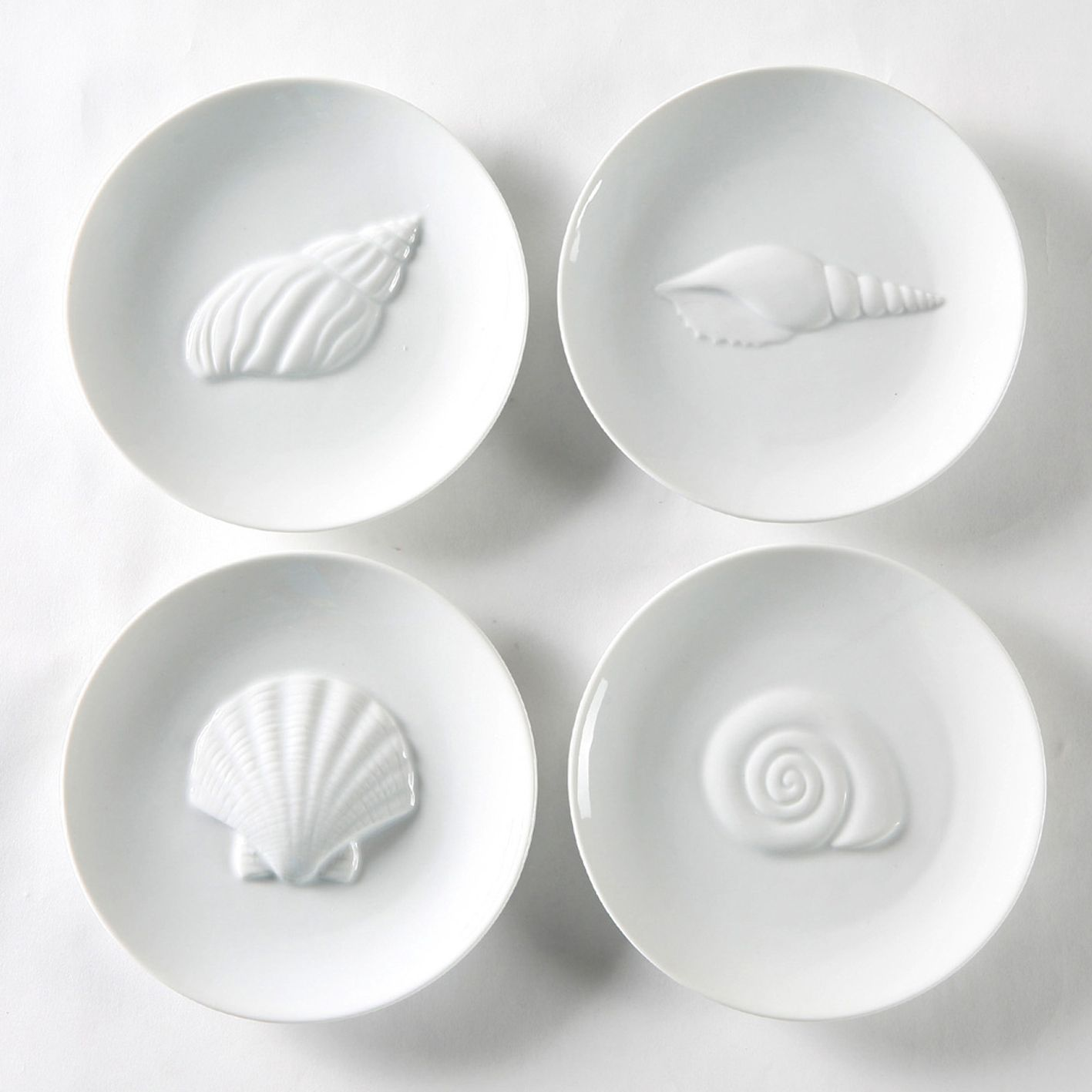 Treasures of the Sea Appetizer Plate Set                                                                                         at mygofer.com