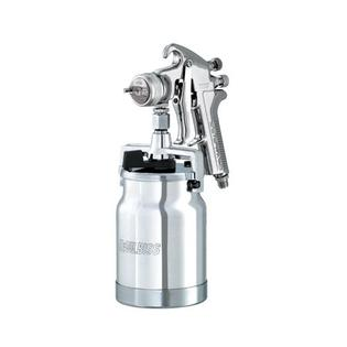 ITW Devilbiss Spray Gun Suction 1.6mm Fluid Tip with Cap & Cup