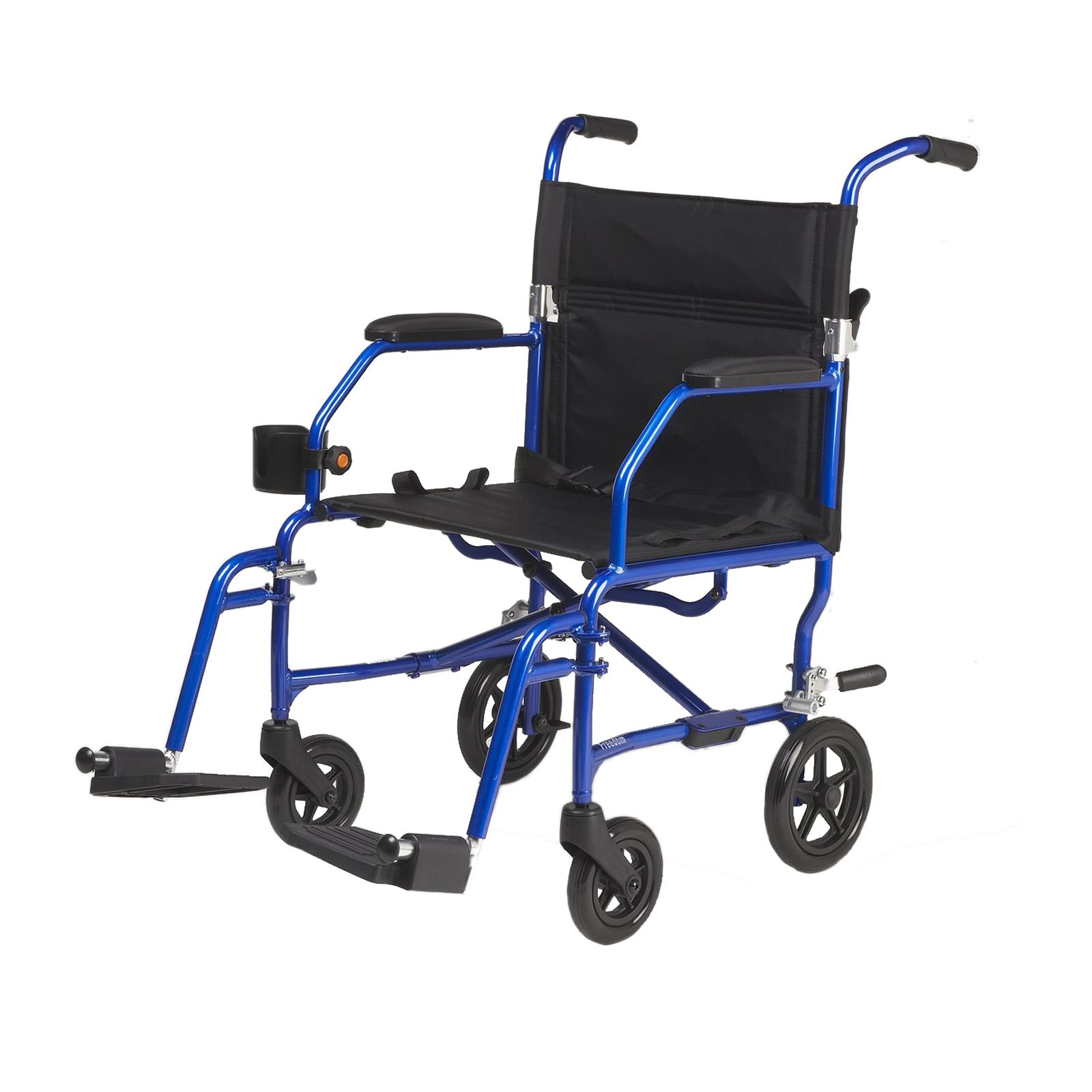 Superlight Freedom Transport Chair-Blue                                                                                          at mygofer.com