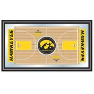 Trademark University of Iowa Basketball Framed Full Court Mirror at Kmart.com