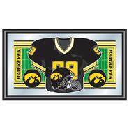 Trademark University of Iowa Football Framed Jersey Mirror at Kmart.com