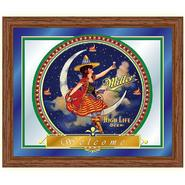 Trademark Miller High Life Girl in the Moon Mirror - 16 x 19 Inches at Kmart.com
