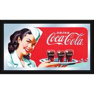 Trademark Coca-Cola Vintage Mirror Horizontal Waitress w/ Coke at Kmart.com