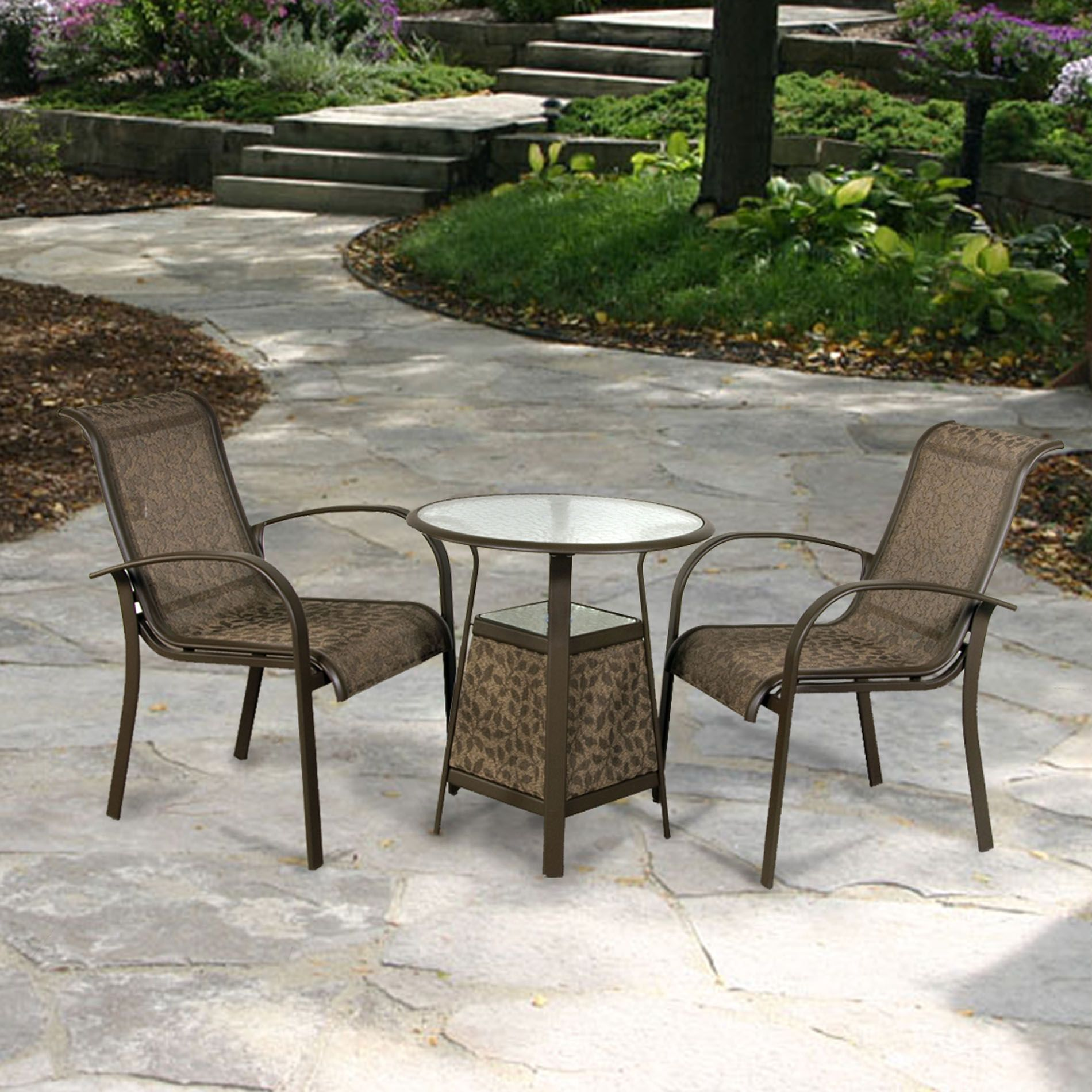 Delmar 3-Piece Patio Bistro Set