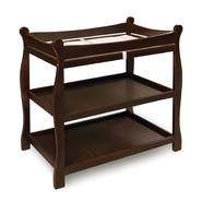 Badger Basket Espresso Sleigh Style Baby Changing Table at Sears.com