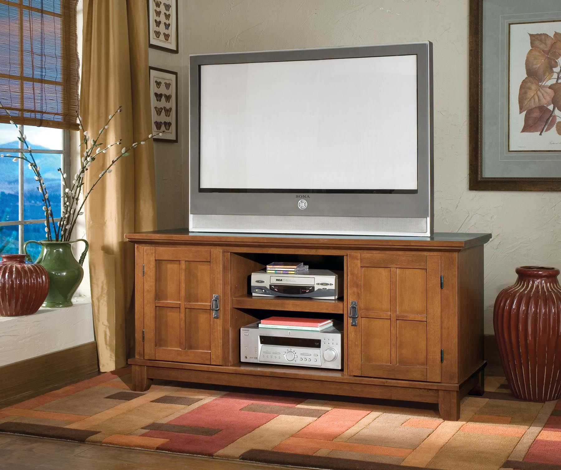 Arts & Crafts TV Stand