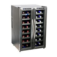 Whynter Stainless Steel Wine Cooler 32 bottle Dual Temperature Zone at Kmart.com