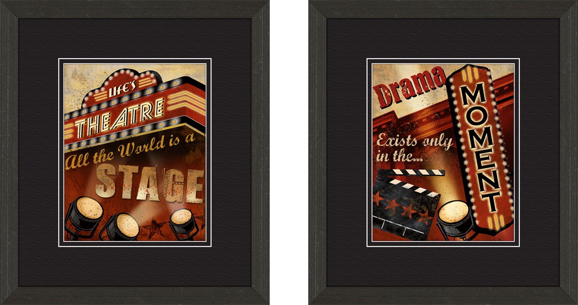 Life's Theatre set of 2