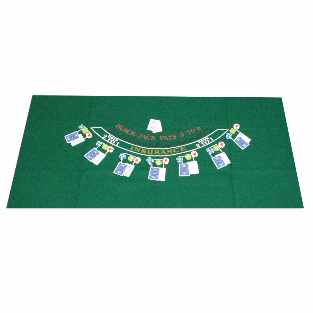 Trademark Poker  Blackjack Layout 36 x